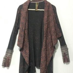 ARNATTA SILENT JOURNEY LONG  CARDIGAN/sweater